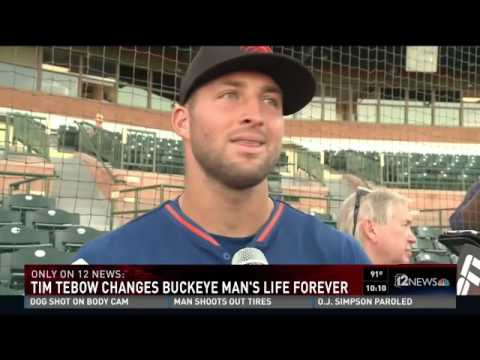 The man Tim Tebow prayed over has new perspective on life