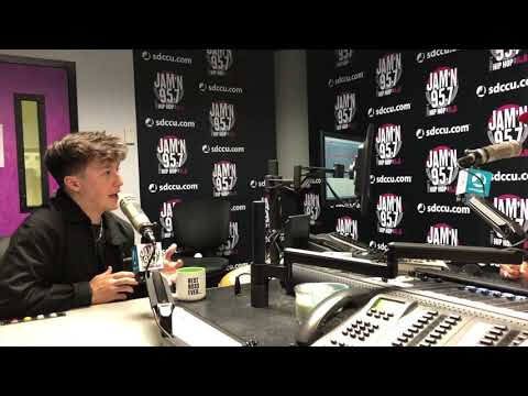Loui - Myles Parrish Interview with Loui on JAM'N 95.7