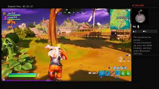 Playing Fortnite in My living room p2