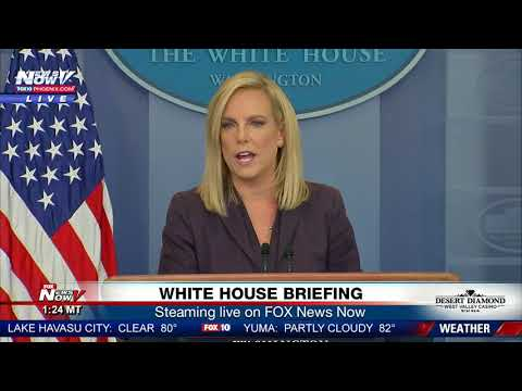 FULL: White House press briefing day President Trump announces National Guard to Mexico border (FNN)