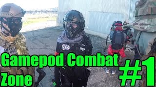 California Gamepod Combat Zone Airsoft Gameplay #1 - The Airport Takeover