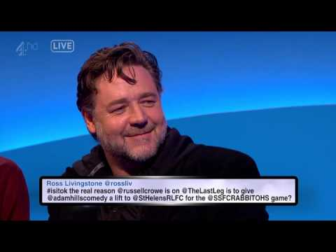 The Last Leg with Russell Crowe 20 Feb 2015