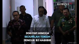 Jokowi, SBY, Hingga Anies Baswedan Jenguk BJ Habibie