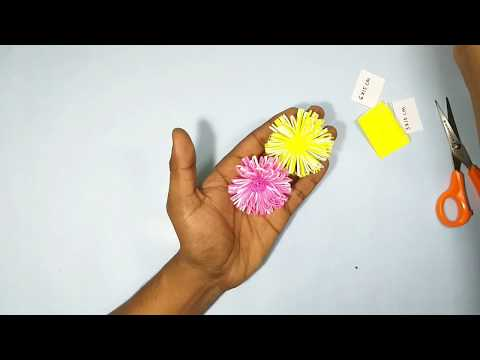 how-to-make-spider-chrysanthemum-flower-out-of-origami-paper-|-diy-crafts