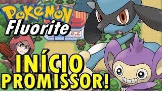 Pokémon Fluorite (Hack Rom - GBA) - O Início Promissor