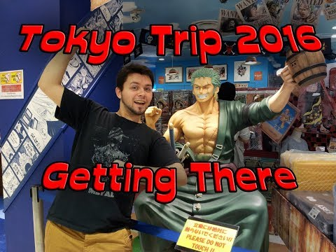 Japan Trip 2016: Getting There
