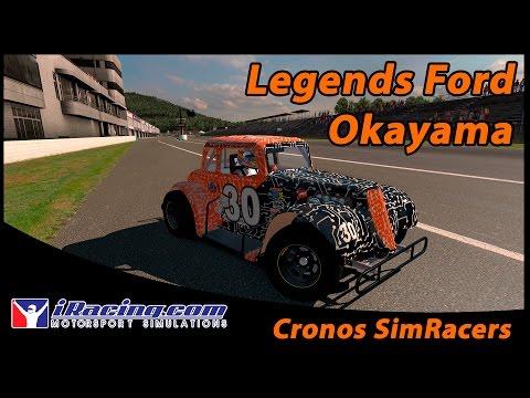iRacing - Hosted RRT - Legends Ford @ Okayama Short