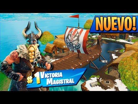 *NUEVO* TODOS los COFRES en PUEBLO VIKINGO! FORTNITE: Battle Royale *TEMPORADA 5*
