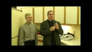 Teaching Mass with Msgr. Kasza (Part 1: Behind The Scenes - Vestments)