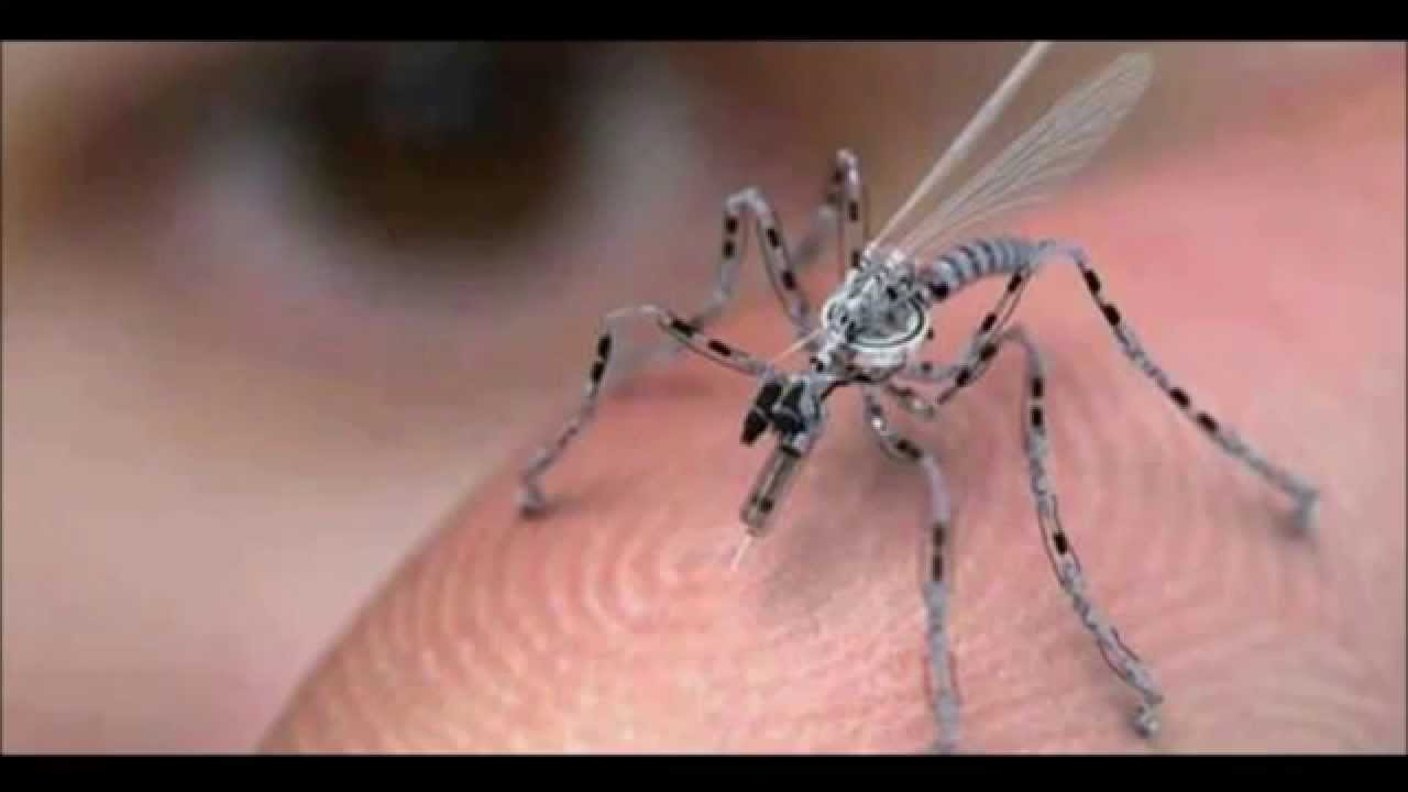 Tiny Insect Spy Robot By US Military
