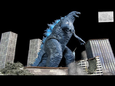 Playmates Godzilla VS Kong Giant Godzilla 2021 Kaiju Figure Review