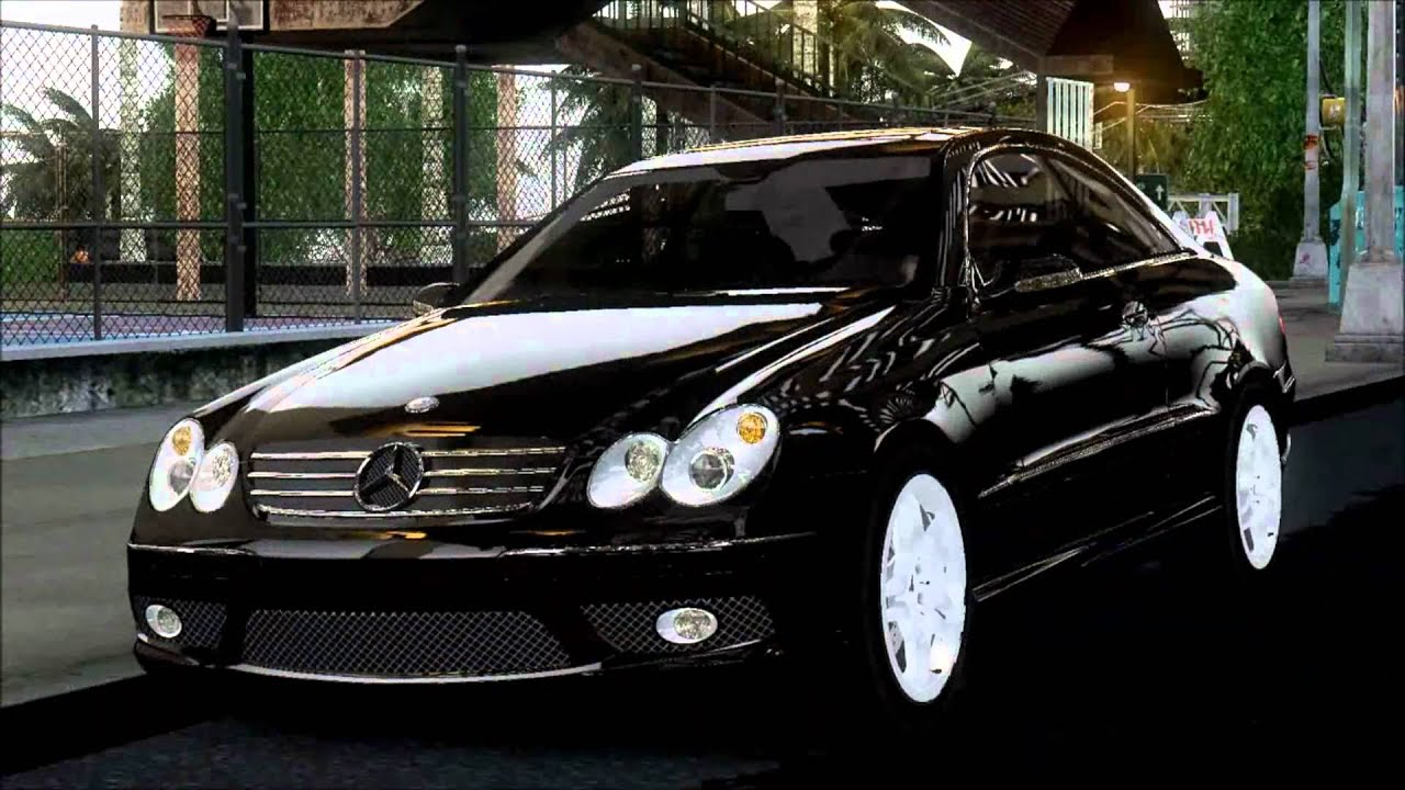 mercedes clk55 amg coupe 2003 youtube. Black Bedroom Furniture Sets. Home Design Ideas