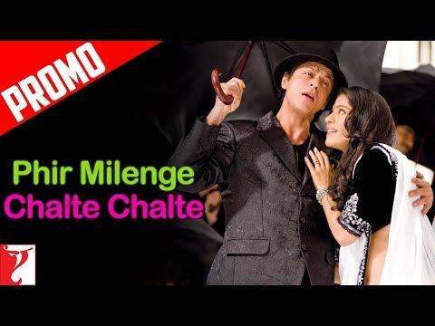 Song Promo  Phir Milenge Chalte Chalte  Rab Ne Bana Di Jodi  Shah Rukh Khan