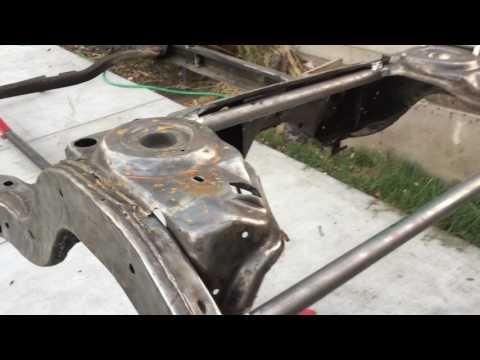 gbody frame off/rear bracing - YouTube