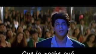 Chand Ne Kuch Kaha (spanish subtitles) - Dil to Pagal Hai