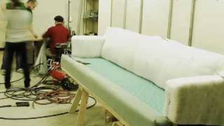 Couch Reupholstery Time Lapse