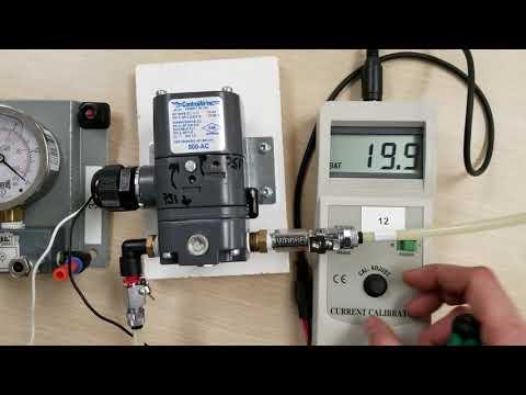 I/P Transducer, Zero And Span Adjustment, Calibration