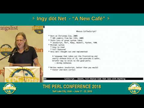 "LIGHTNING TALK: Ingy döt Net – ""A New Café"""