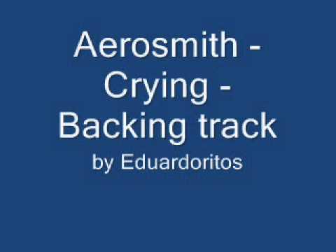 Aerosmith Crying Guitarvocal Backing Track Youtube