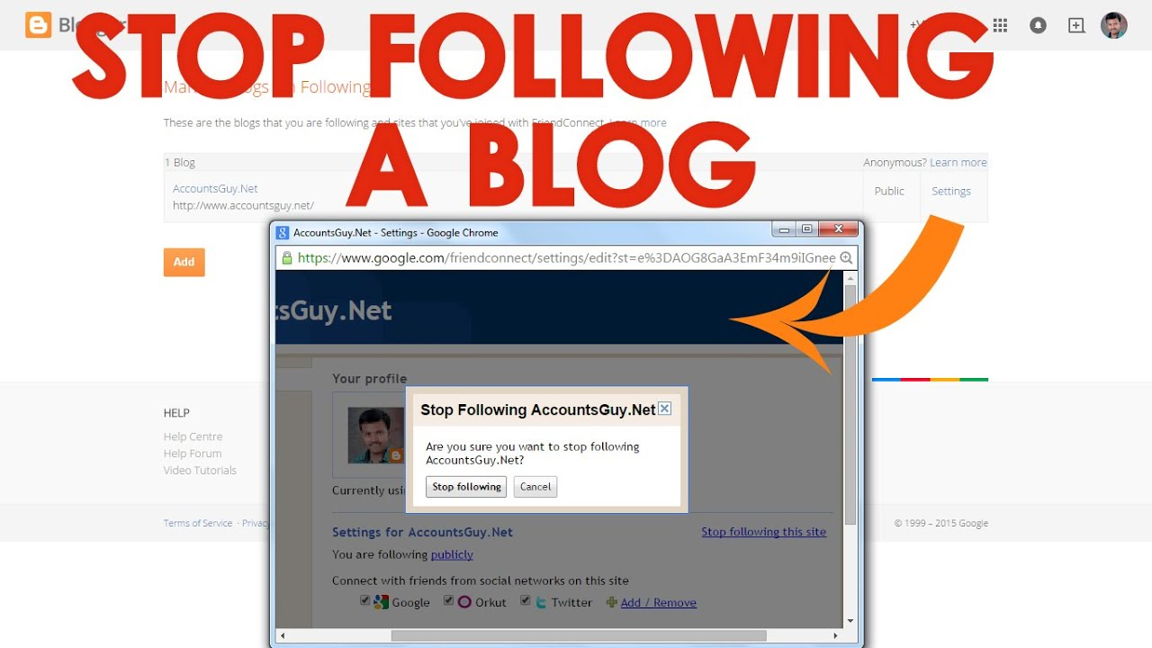 how to make a blog on google blogger