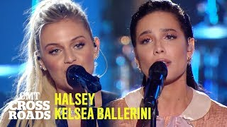 Halsey & Kelsea Ballerini Perform 'Peter Pan' | CMT Crossroads