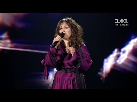 Olena Lutsenko 'Ya pidu v daleki hory' – The Quarter Final – The Voice of Ukraine – season 8