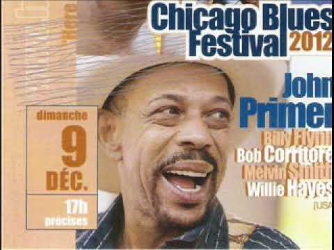 John Primer & Friends - Chicago Blues Festival, Tournon; France. 2012