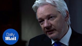 Julian Assange denies Russia is source of Clinton email leaks - Daily Mail