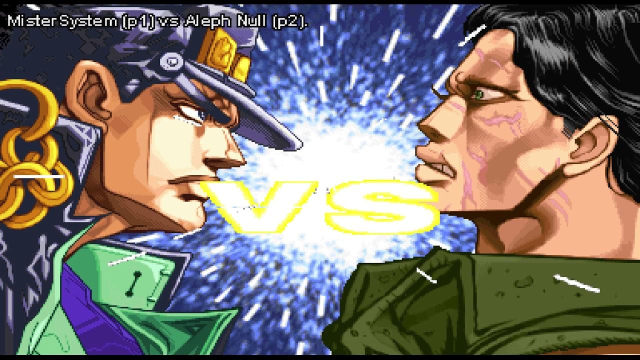 FightCade - JoJo's Bizarre Adventure - MisterSystem (BRA) vs  Aleph Null  (USA) #2 by Aleph Null