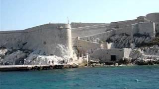 南法地中海  馬賽 Marseille  基度山恩仇記之伊芙島  Chateau d'If