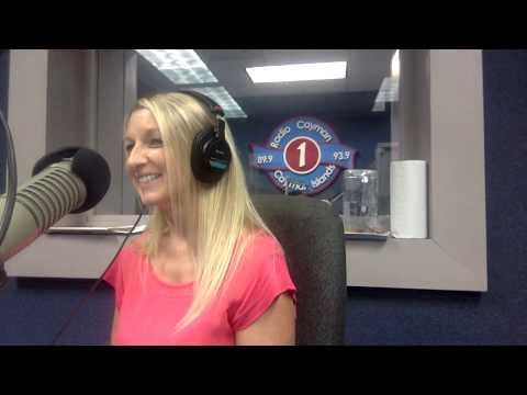 Co-Hosting Radio Cayman on December 1, 2017