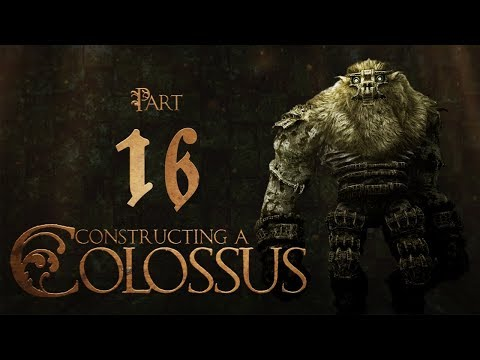 Constructing A Colossus Part 16: Casting Resin ( Shadow Of The Colossus Sculpture Build )