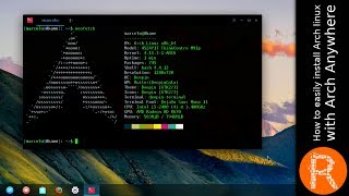 How to easily install Arch linux with Arch Anywhere