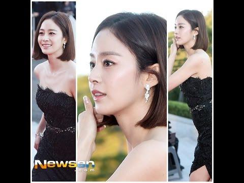 Photo of kim tae hee ภาพยนตร์ – [Fancam] 2015.10.09 Kim Tae Hee @ Korea Drama Awards 2015 (2)