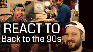 Reacting to Back to the 90s - Ben Giroux & Jensen Reed