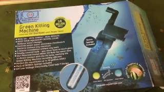unboxing and product review green killing machine uv sterilizer