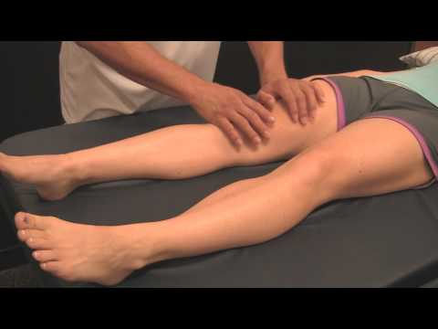 Sports Massage Demo 1: Quads- Improve Leg Muscle Performance, Athletic Tune-Up Austin