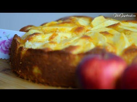 How to Make Easy German Apple Cake (Apfelkuchen) Recipe 애플케익  アップルケーキ