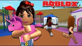OLIVES FIRST DAY AT DAYCARE (elle s'est fait des amis) Bloxburg Roleplay - France Roblox