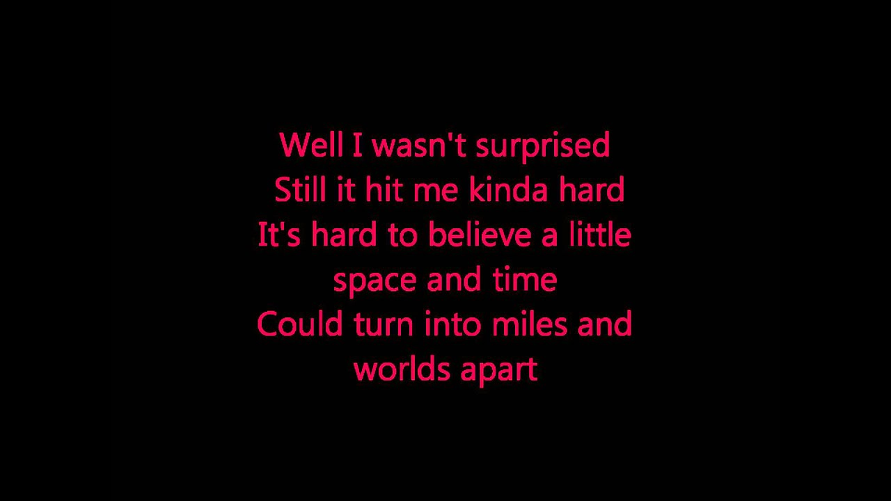 Blake Shelton- I Found Someone Lyrics