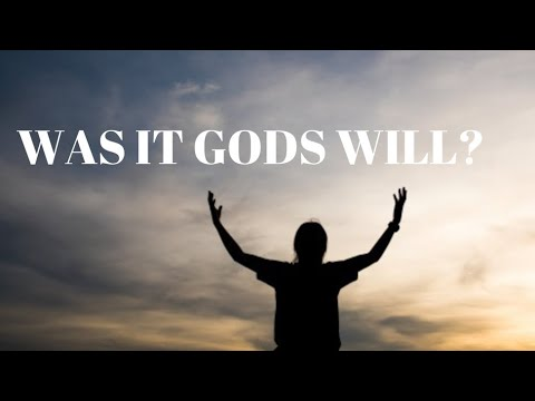 understanding what the will of god is