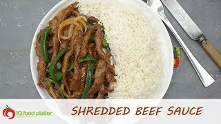 Shredded Beef Sauce  1QFoodplatter