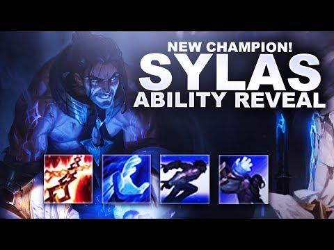 SYLAS NEW CHAMPION! ABILITY REVEAL! HE COPIES ULTIMATES!  | League of Legends
