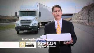 18 Wheeler Accident Baton Rouge Personal Injury Attorney - Gordon McKernan - Get Gordon!