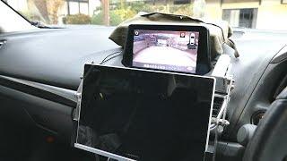 タブレット 電動チルトホルダー。 サイドカメラ、フロント リアー用モニター (Diy)Car Mount Tablet Electric Vertical Motion Holder