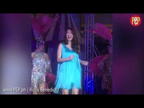 Marian Rivera dances despite baby bump