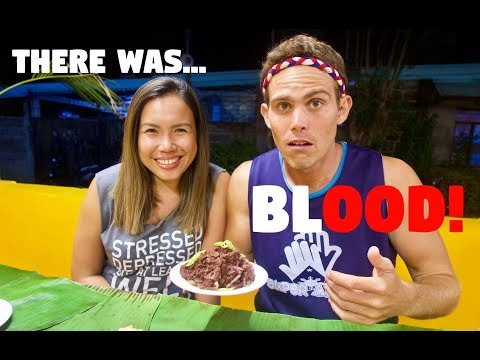 EATING BLOOD AND EXTREME FILIPINO ADVENTURES | BECOMINGFILIPINO ILOCOS NORTE