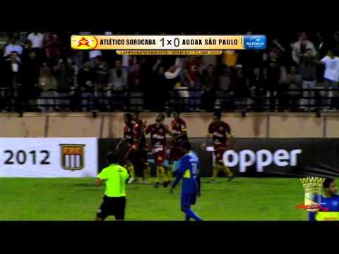 Campeoanto Paulista - Semifinais - Série A2 - Atlético Sorocaba 1x0 Audax