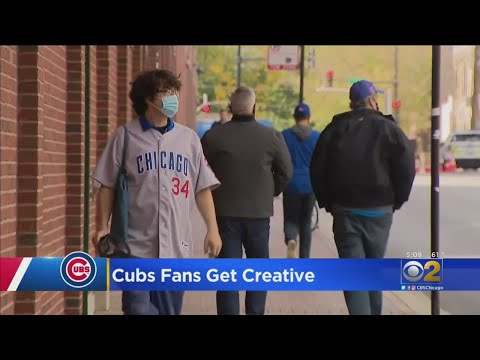 Cubs Playoff Baseball Begins In Wrigleyville, Under Much Different Circumstances Than Usual