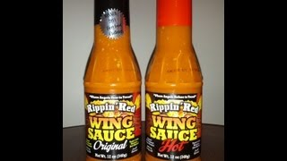 """Rippin Red Wing Sauce """"original And Hot"""" Review"""